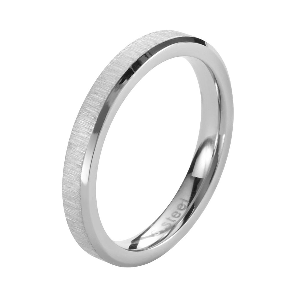 Steel City Stainless Steel Ring