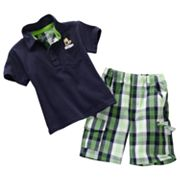 Disney Mickey Mouse Polo and Plaid Shorts Set - Toddler