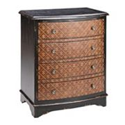 Madison Park Fleur-de-Lis 4-Drawer Accent Chest