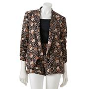 Love And Haight Cheetah Jacket - Juniors