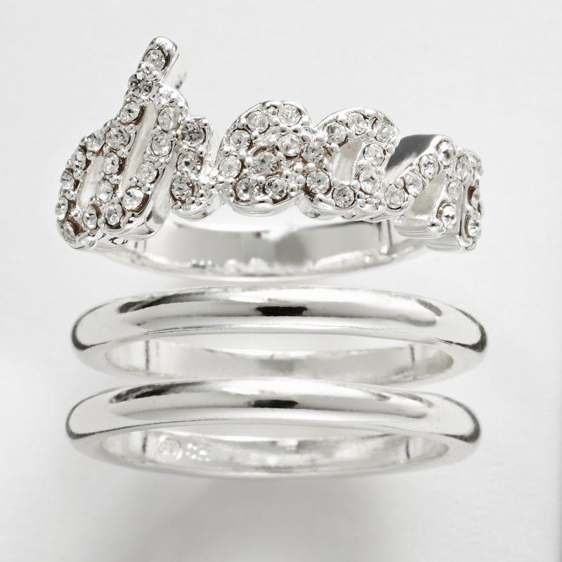 purple fashion rings jewelry kohl s