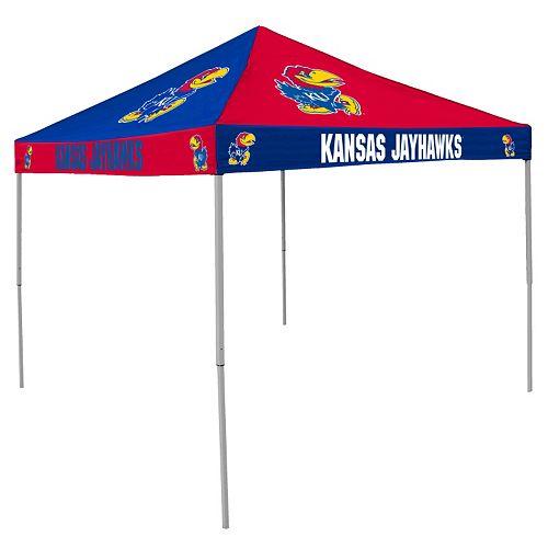 Kansas Jayhawks Checkerboard Tent