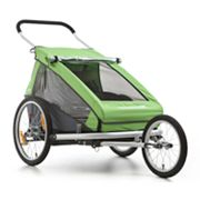 Croozer Kid Deluxe Double Bike Trailer