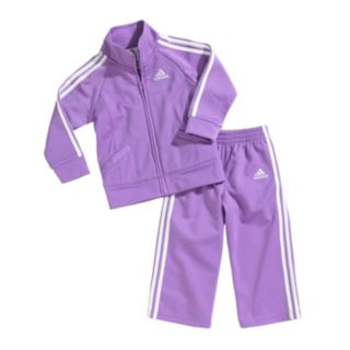 adidas Tricot Jacket and Pants Set - Baby