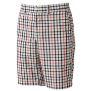 SONOMA life + style Plaid Flat-Front Shorts - Big and Tall
