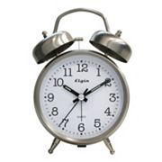 Elgin Twin Bell Alarm Clock