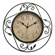 Geneva Clock Wrought Iron Wall Clock