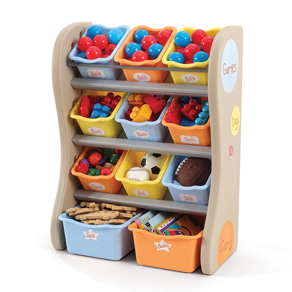 Kids wooden toy chest sunny safari - Kids Wooden Toy Chest Sunny Safari 20
