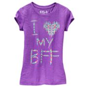 Mudd BFF Burnout Tee - Girls 7-16