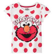 Elmo Dotted Tee - Toddler