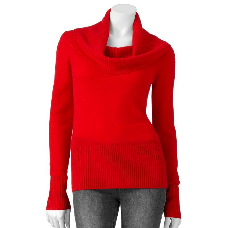 Kohls.com Apt. 9 Apt. 9 Solid Cashmere Sweater