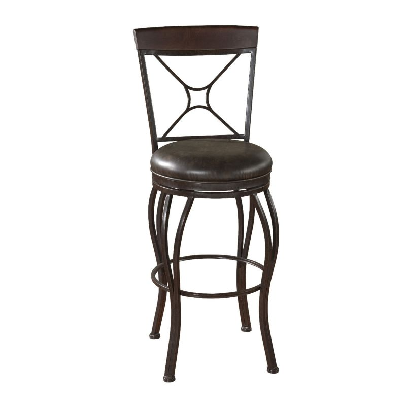 Leather Swivel Counter Stool Kohl S