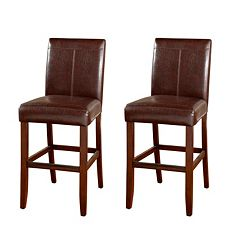 American Heritage Billiards 2 pc Carla Bar Stool Set