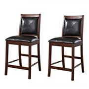 American Heritage Billiards 2-pc. Devera Counter Stool Set