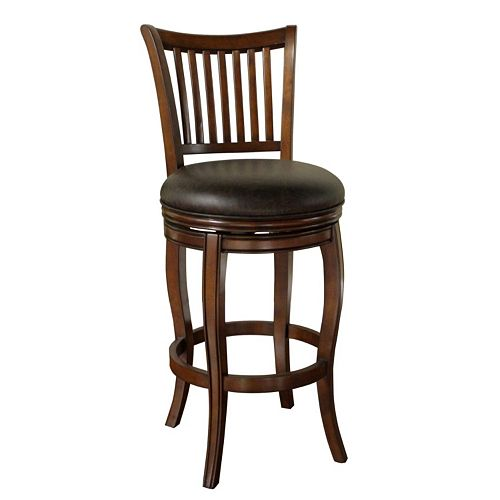 American Heritage Billiards Maxwell Swivel Bar Stool