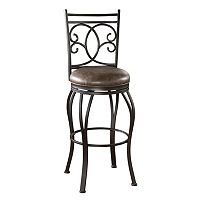 American Heritage Billiards Nadia Swivel Counter Stool