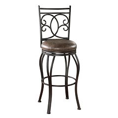 American Heritage Billiards Nadia Swivel Bar Stool