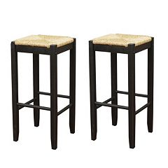 American Heritage Billiards 2-pc. Rattan Bar Stool Set