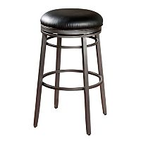 American Heritage Billiards Silvano Swivel Counter Stool