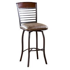 American Heritage Billiards Stefano Swivel Bar Stool
