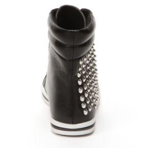 NYLA Callista Studded High-Top Sneakers - Women