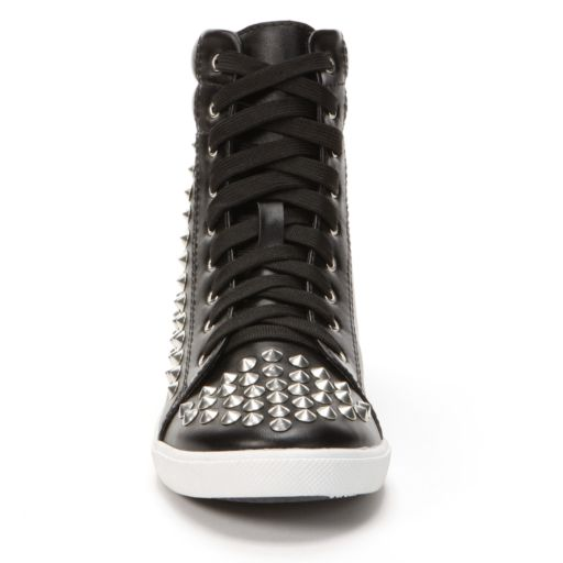 NYLA Callista Studded High-Top Sneakers - Women