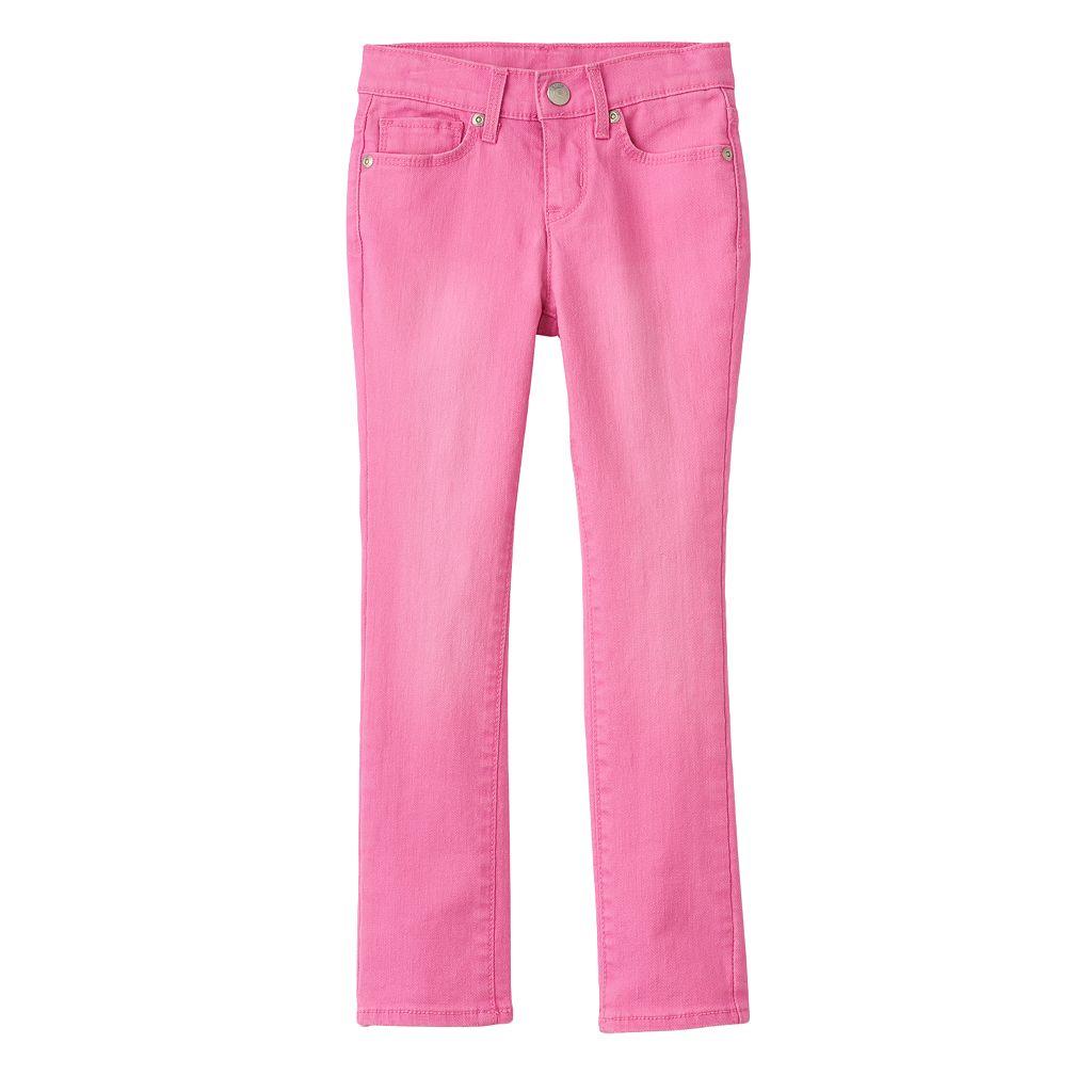 Girls 4-7 SONOMA Goods for Life™ Pink Skinny Jeans