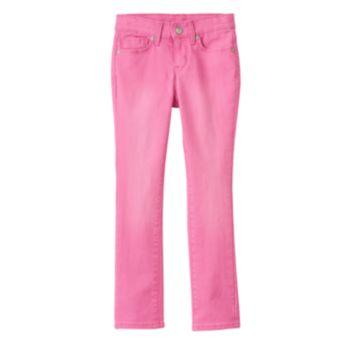 Girls 4-7 SONOMA Goods for Life? Pink Skinny Jeans