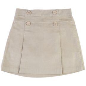 Girls 4-6x Chaps Pleated Corduroy School Uniform Skort
