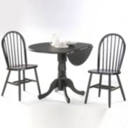 Windsor 3-pc. Drop-Leaf Dining Table & Chair Set
