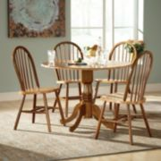 Windsor 5-pc. Drop-Leaf Dining Table & Chair Set