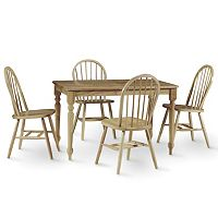 Traditional 5 pc Dining Table & Chair Set