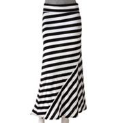 Ultra Flirt Striped Maxi Skirt - Juniors