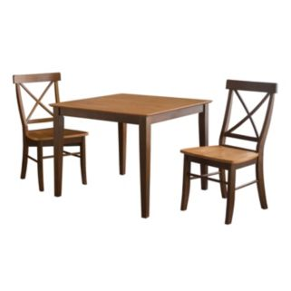 3-pc. Contemporary Table and Chair Set