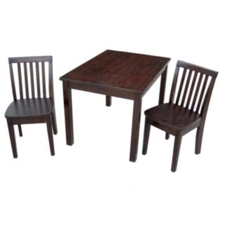 3-pc. Juvenile Table and Chairs Set