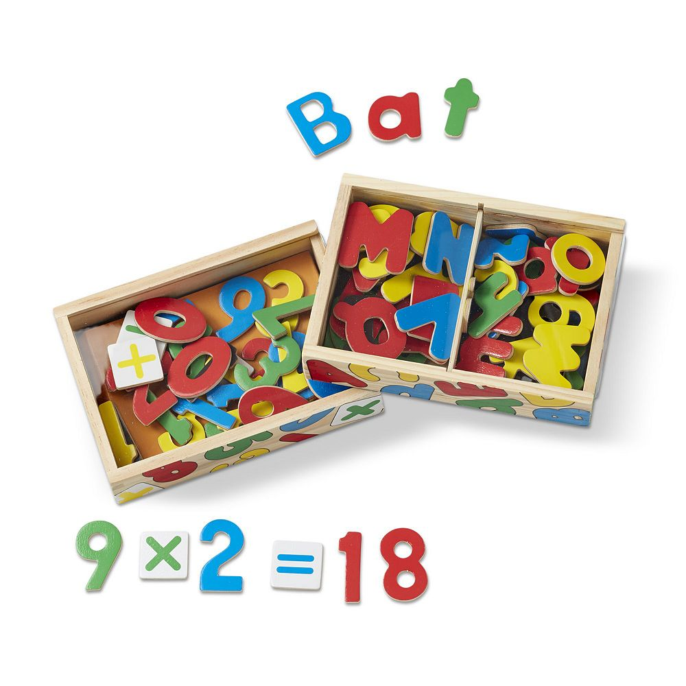 Melissa & Doug Magnetic Letters & Numbers Bundle