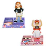 Melissa and Doug Magnetic Dress-Up Set Bundle
