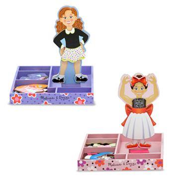 Melissa & Doug Magnetic Dress-Up Set Bundle