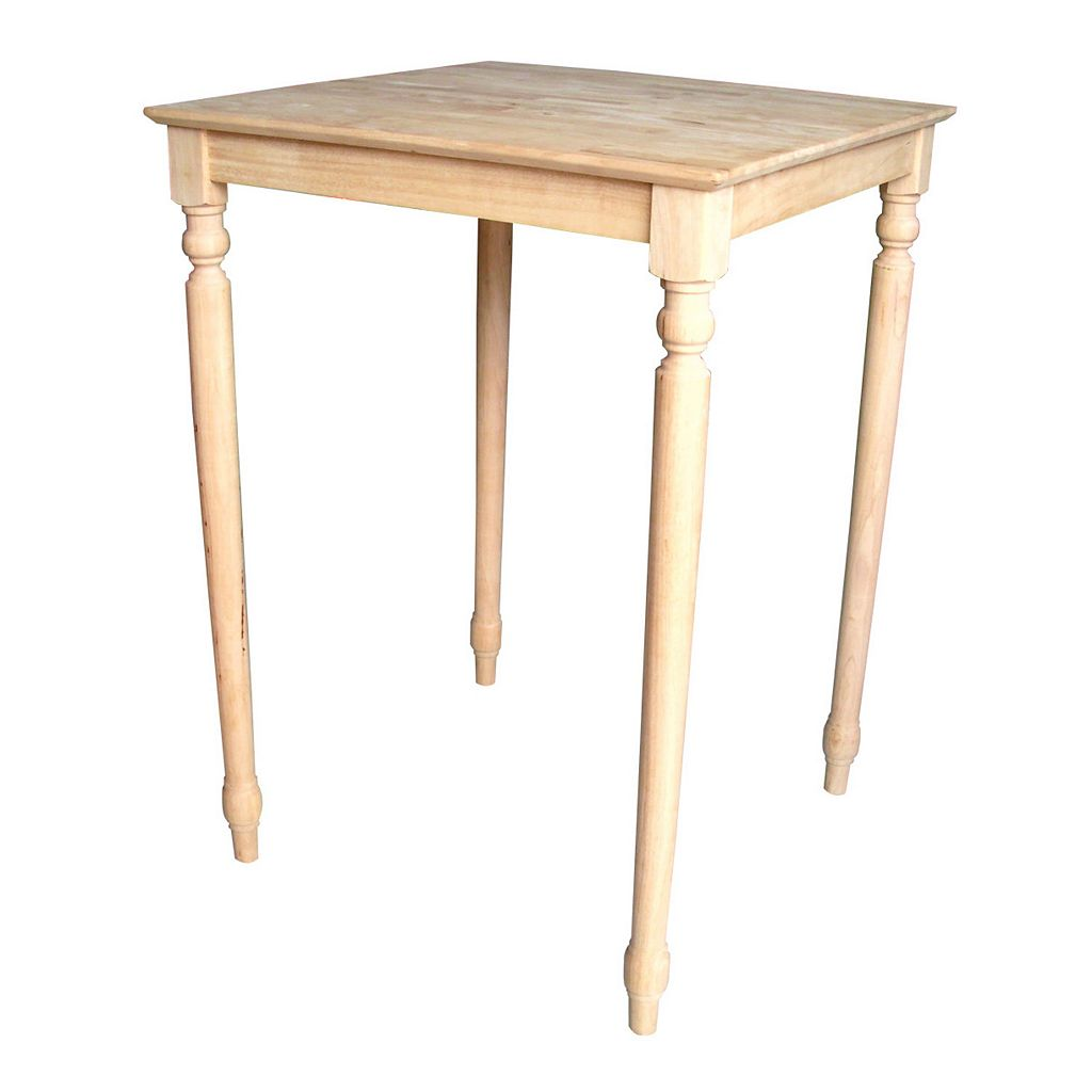 Traditional Finial-Styled Table