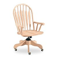 Steambent Windsor Rolling Arm Chair