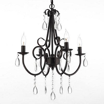 Gallery Elegant Crystal 4-Light Chandelier