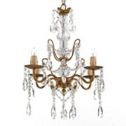 Gallery Elegant Crystal 4-Light Chandelier