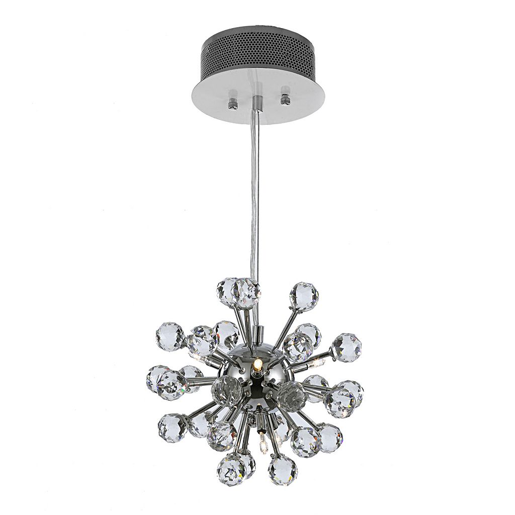 Gallery Modern Crystal 6-Light Chandelier