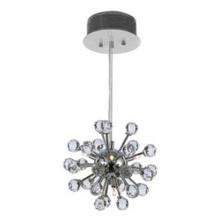 Gallery Modern Crystal 6-Light Chandelier