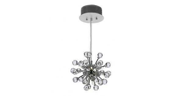 Crystal Chandelier Youtube: Gallery Modern Crystal 6-Light Chandelier