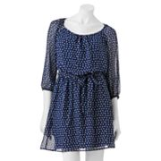 Speechless Polka-Dot Dress - Juniors