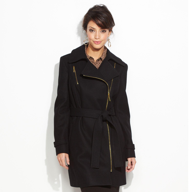 Dana Buchman Wool-Blend Coat