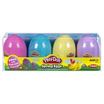 Hasbro Play-Doh 4-pk. Spring Eggs