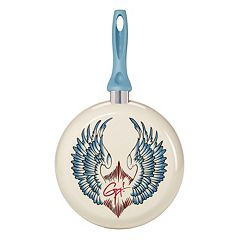 Guy Fieri Deco Wings 10 in Nonstick Frypan