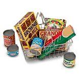 Melissa & Doug Let's Play House! Grocery Basket Set